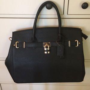 Handbags - Briefcase Black Purse
